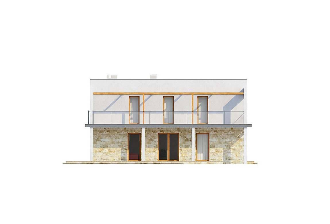 Проект дома из блоков АСД-1875 (uploads/gss/goods/804/big_4.jpg).