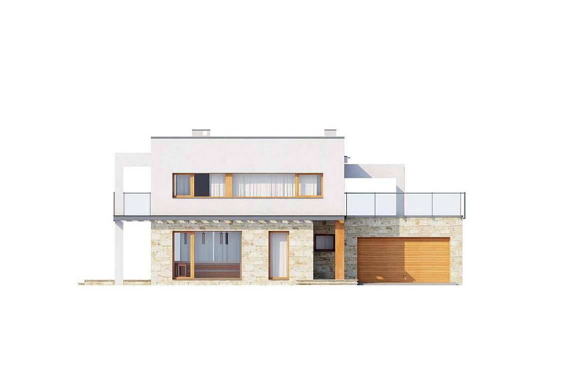 Проект дома из блоков АСД-1875 (uploads/gss/goods/804/big_5.jpg).