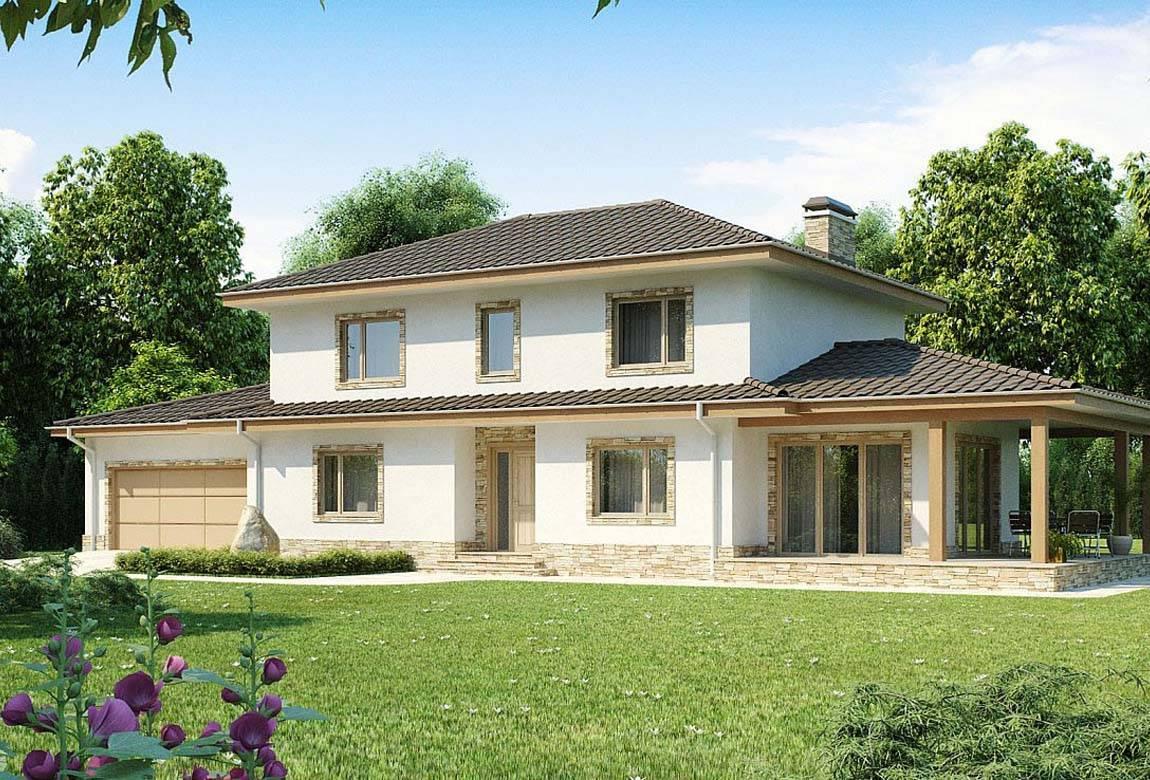 Проект дома из блоков АСД-1879 (uploads/gss/goods/808/big_1.jpg).