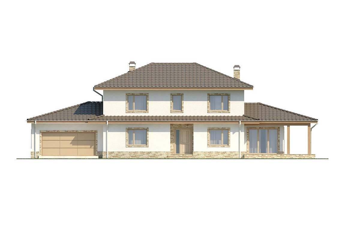 Проект дома из блоков АСД-1879 (uploads/gss/goods/808/big_3.jpg).