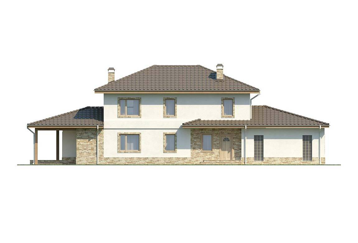 Проект дома из блоков АСД-1879 (uploads/gss/goods/808/big_4.jpg).