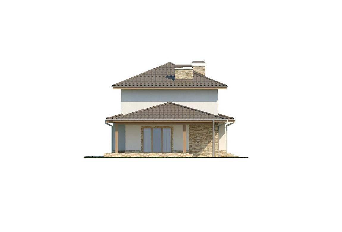 Проект дома из блоков АСД-1879 (uploads/gss/goods/808/big_5.jpg).