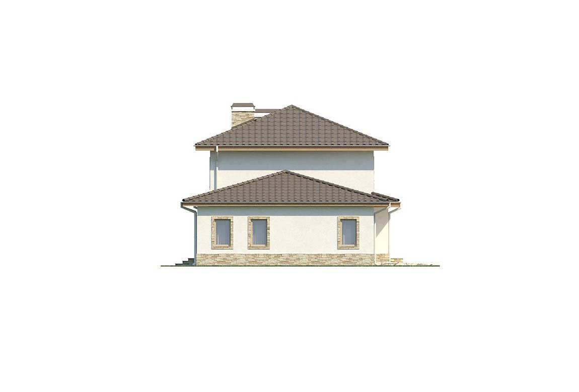 Проект дома из блоков АСД-1879 (uploads/gss/goods/808/big_6.jpg).