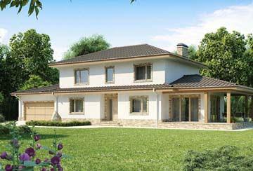 Проект дома из блоков АСД-1879