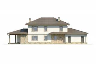 Проект дома из блоков АСД-1879 (uploads/gss/goods/808/thumb_4.jpg).