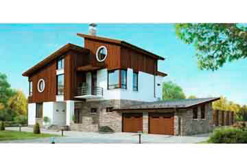 Проект кирпичного дома АСД-1081