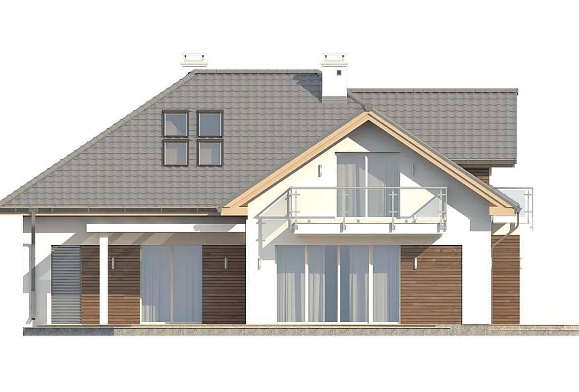 Проект дома из блоков АСД-1883 (uploads/gss/goods/812/big_4.jpg).