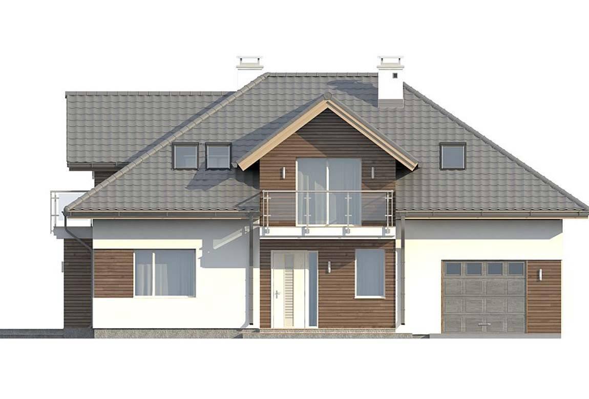 Проект дома из блоков АСД-1883 (uploads/gss/goods/812/big_5.jpg).