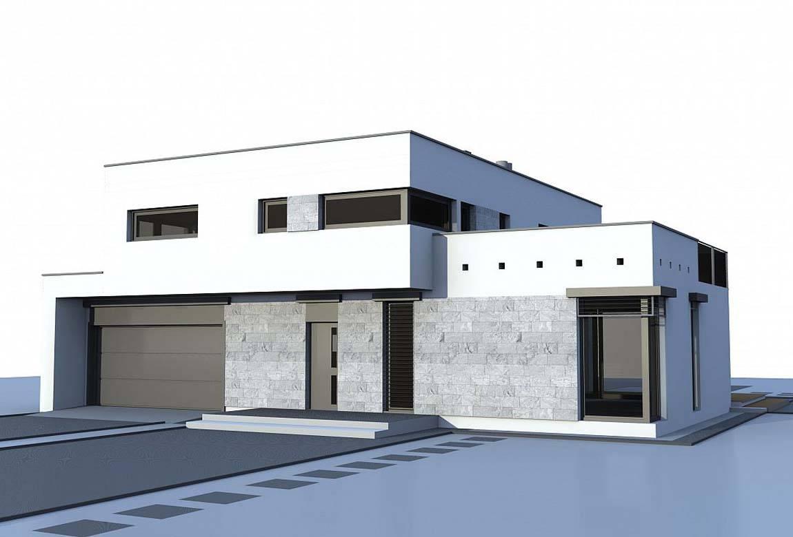 Проект дома из блоков АСД-1884 (uploads/gss/goods/813/big_3.jpg).