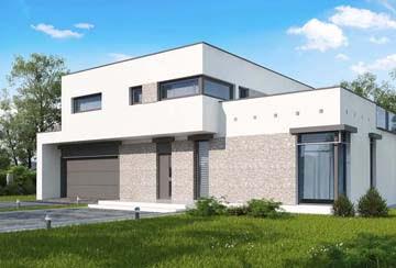 Проект дома из блоков АСД-1884