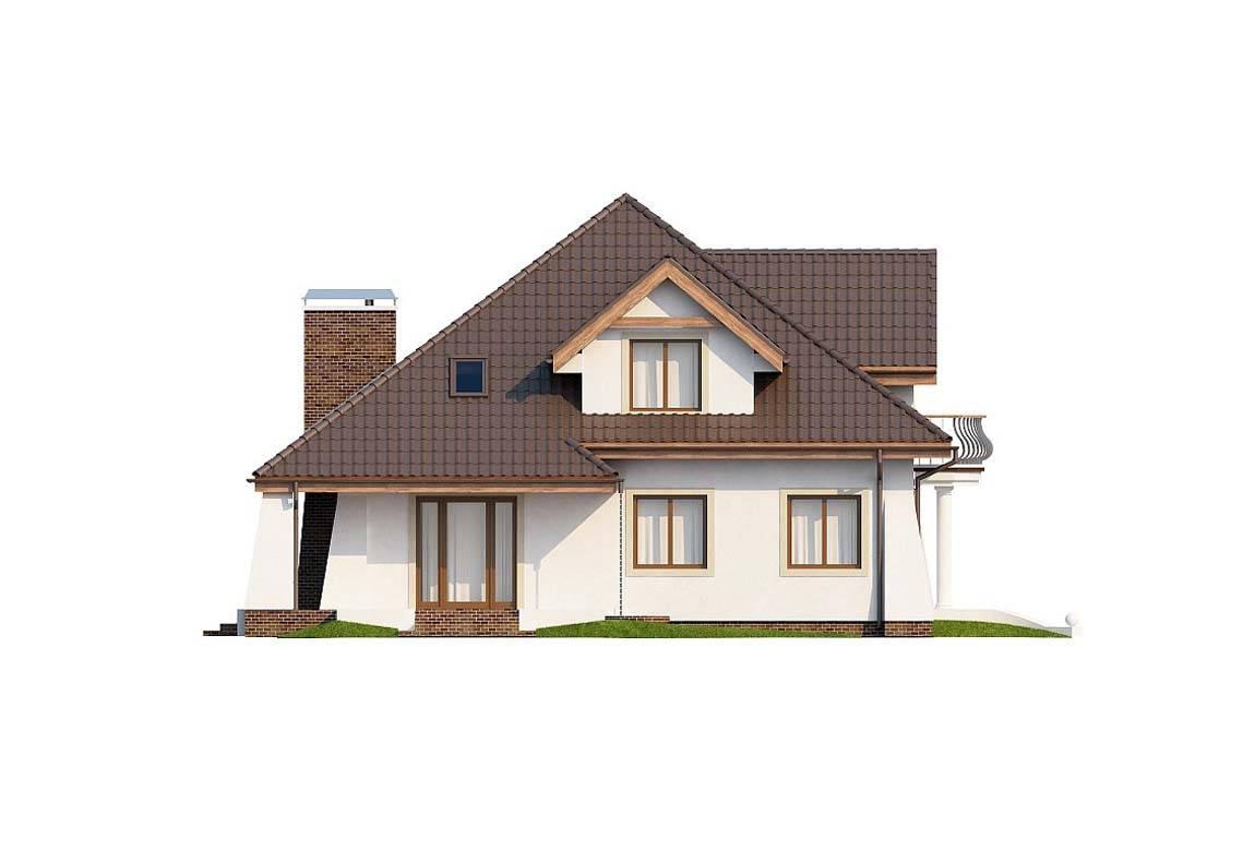 Проект дома из блоков АСД-1886 (uploads/gss/goods/815/big_3.jpg).