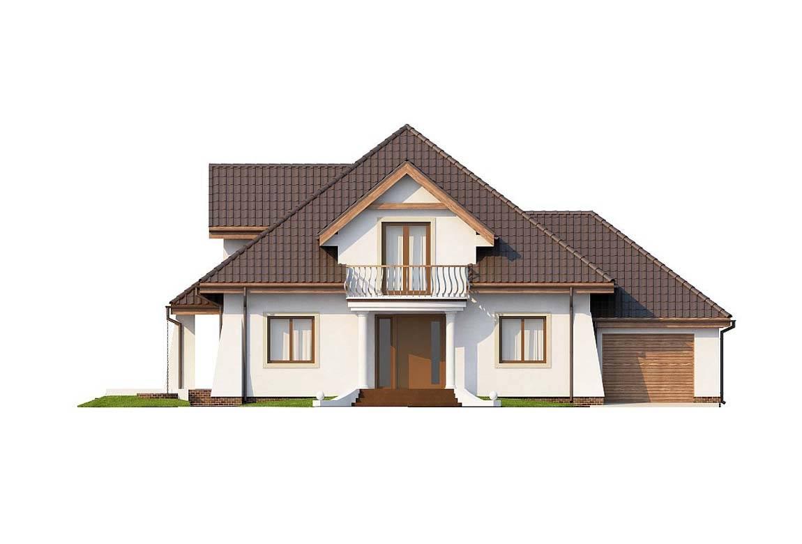 Проект дома из блоков АСД-1886 (uploads/gss/goods/815/big_4.jpg).
