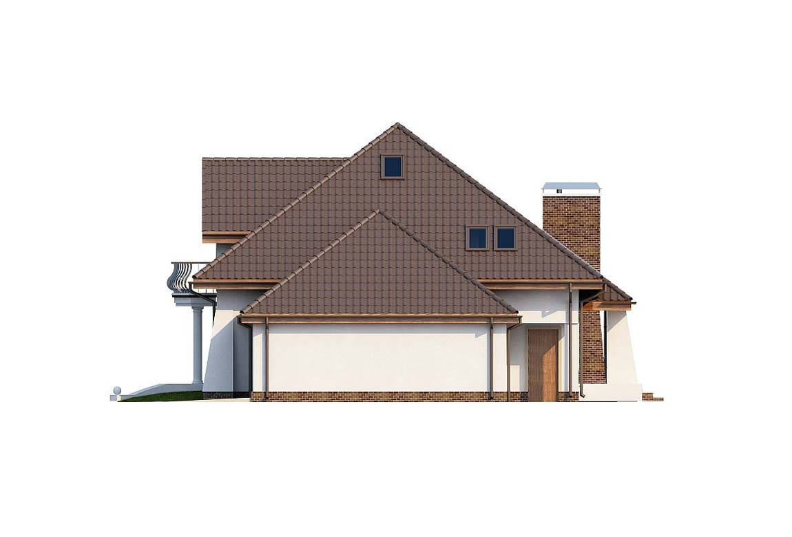 Проект дома из блоков АСД-1886 (uploads/gss/goods/815/big_5.jpg).