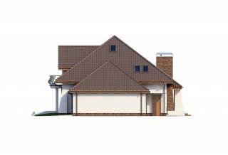 Проект дома из блоков АСД-1886 (uploads/gss/goods/815/thumb_5.jpg).