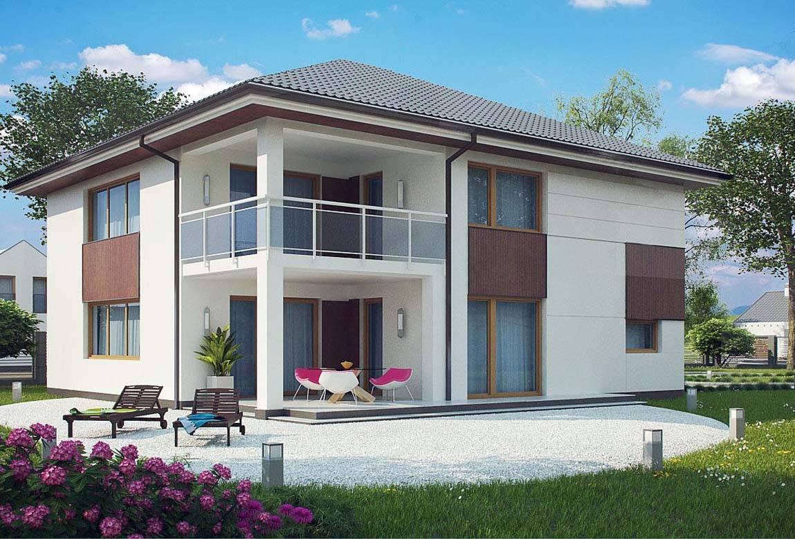 Проект дома из блоков АСД-1887 (uploads/gss/goods/816/big_2.jpg).