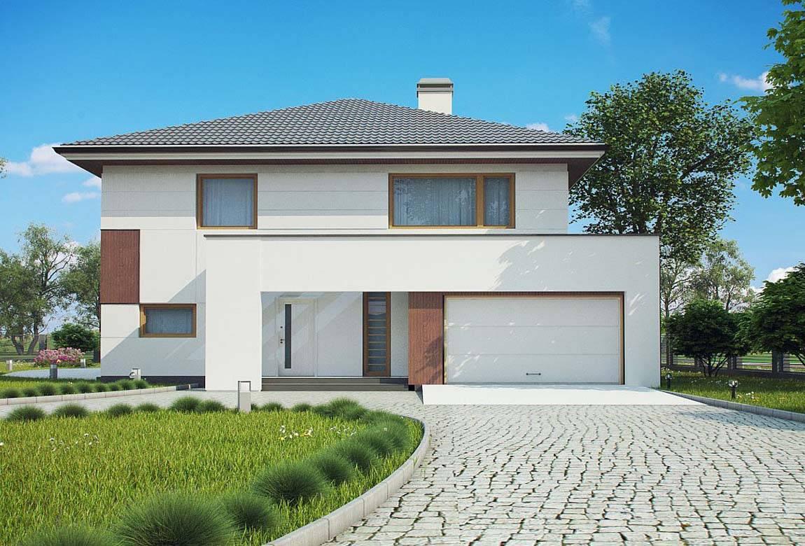 Проект дома из блоков АСД-1887 (uploads/gss/goods/816/big_3.jpg).
