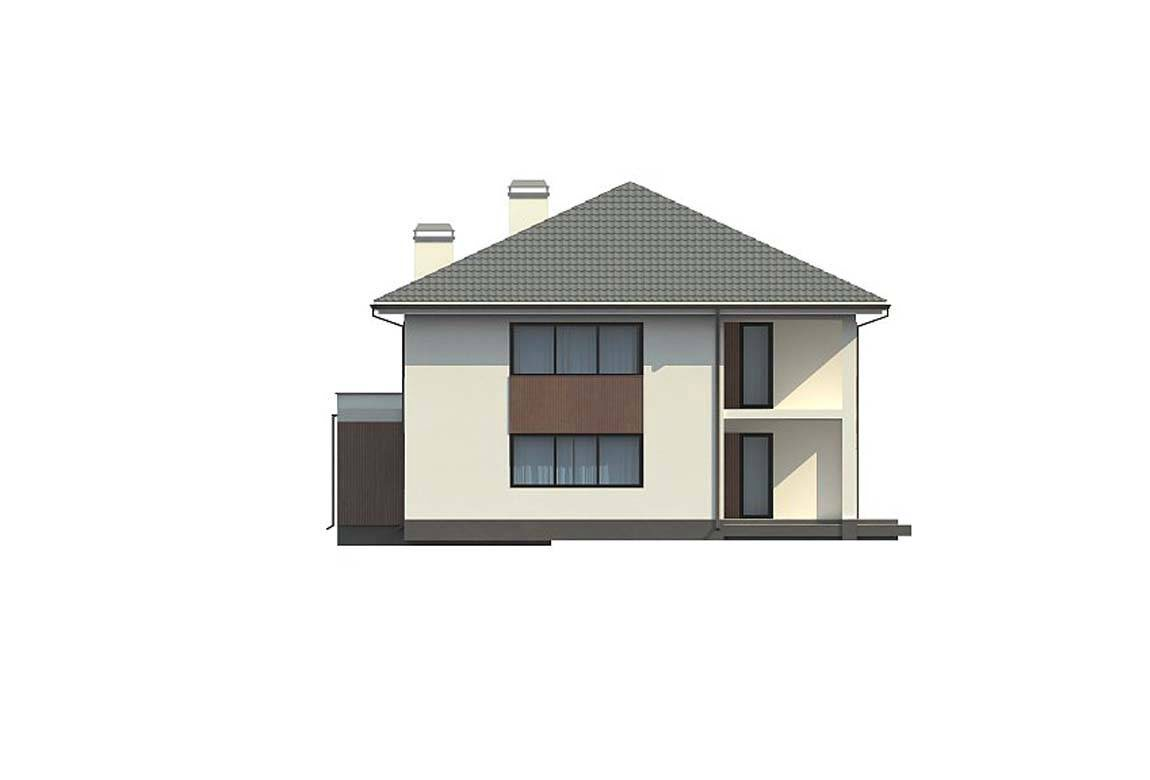 Проект дома из блоков АСД-1887 (uploads/gss/goods/816/big_4.jpg).
