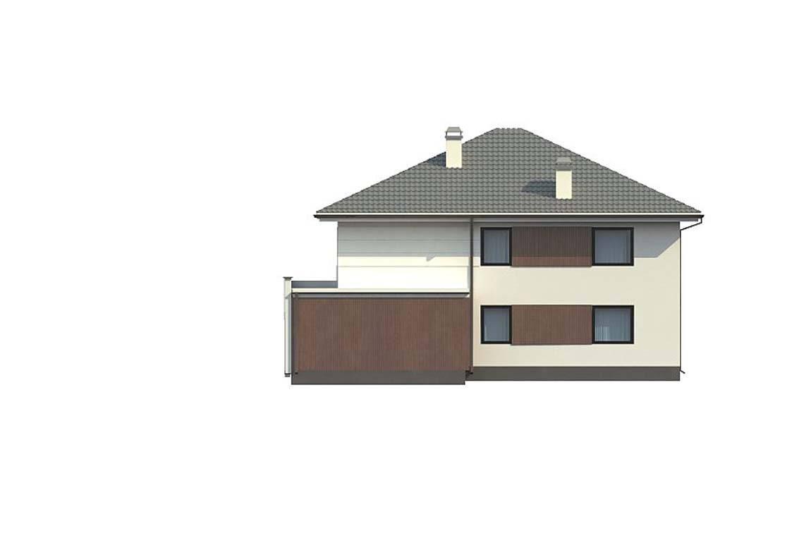 Проект дома из блоков АСД-1887 (uploads/gss/goods/816/big_5.jpg).