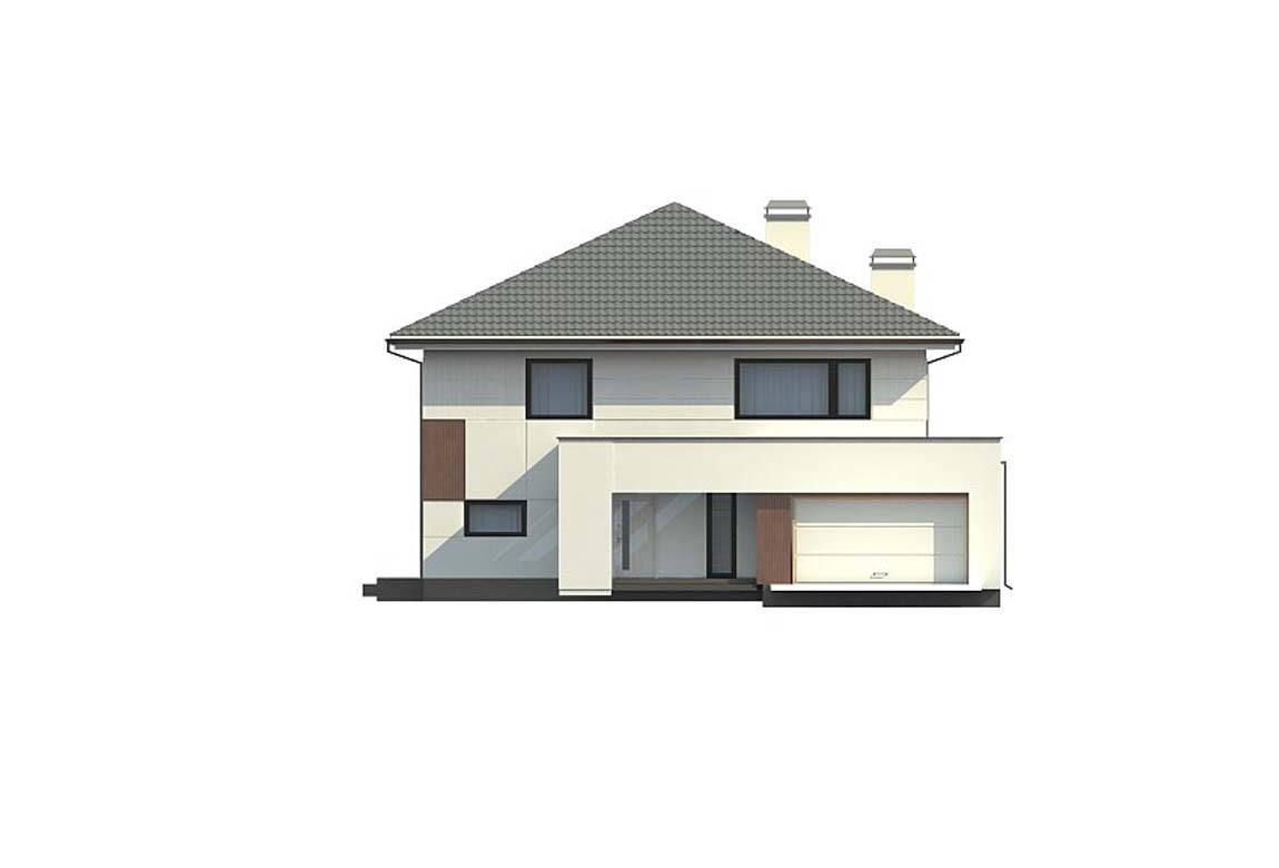 Проект дома из блоков АСД-1887 (uploads/gss/goods/816/big_6.jpg).