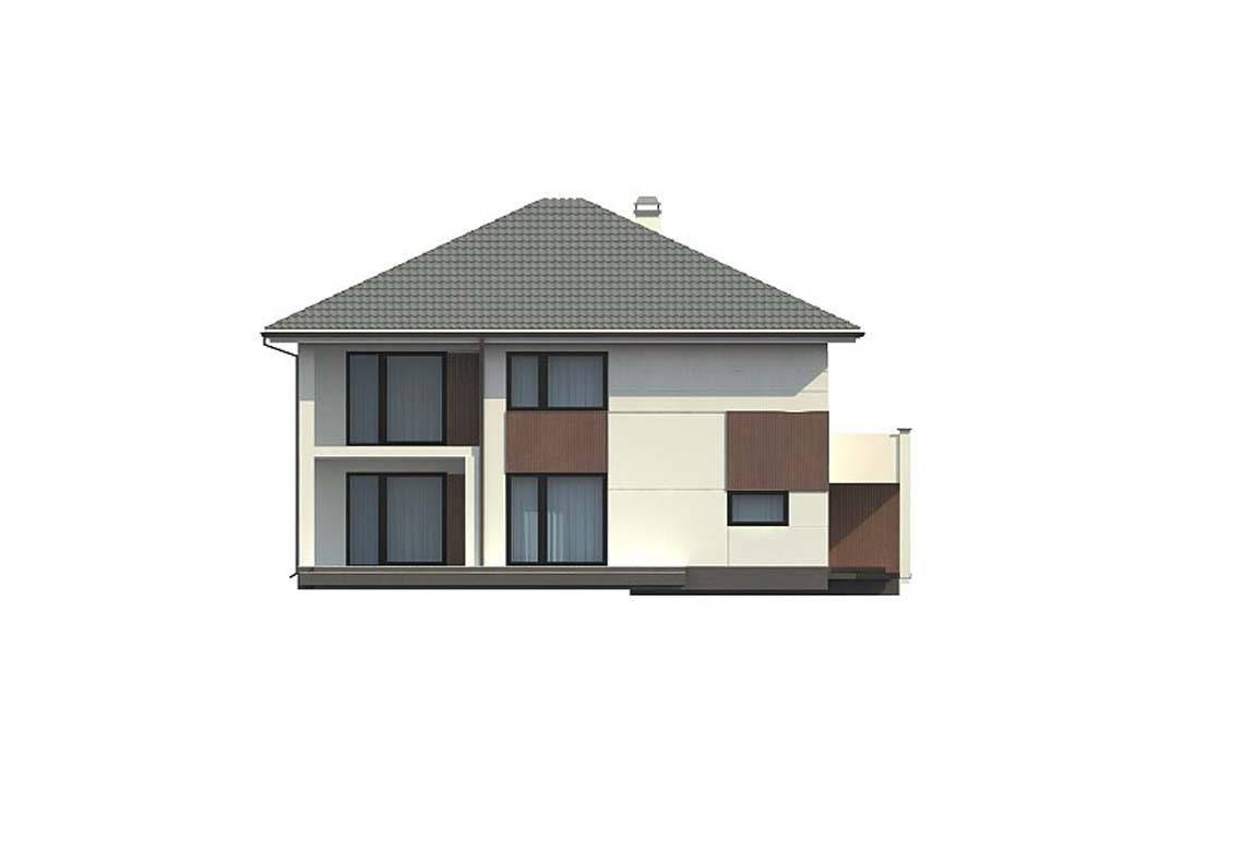 Проект дома из блоков АСД-1887 (uploads/gss/goods/816/big_7.jpg).