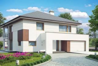 Проект дома из блоков АСД-1887 (uploads/gss/goods/816/thumb_1.jpg).