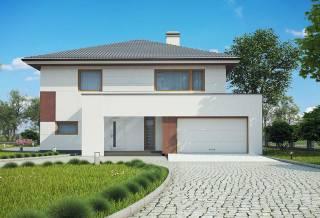 Проект дома из блоков АСД-1887 (uploads/gss/goods/816/thumb_3.jpg).