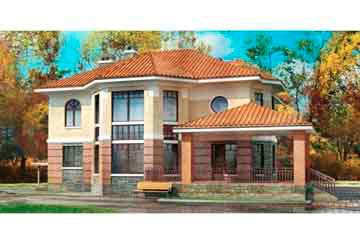 Проект кирпичного дома АСД-1082