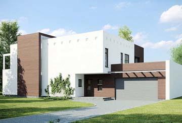 Проект дома из блоков АСД-1801