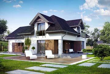 Проект дома из блоков АСД-1802