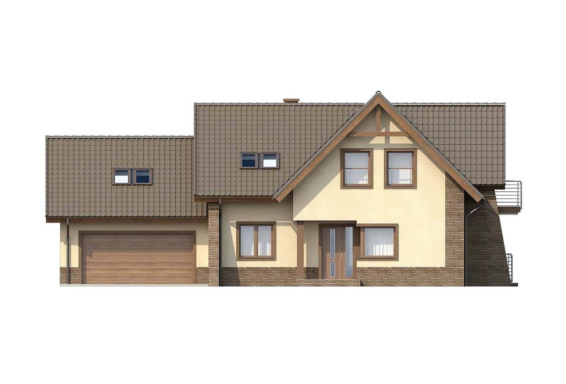 Проект дома из блоков АСД-1803 (uploads/gss/goods/824/big_3.jpg).