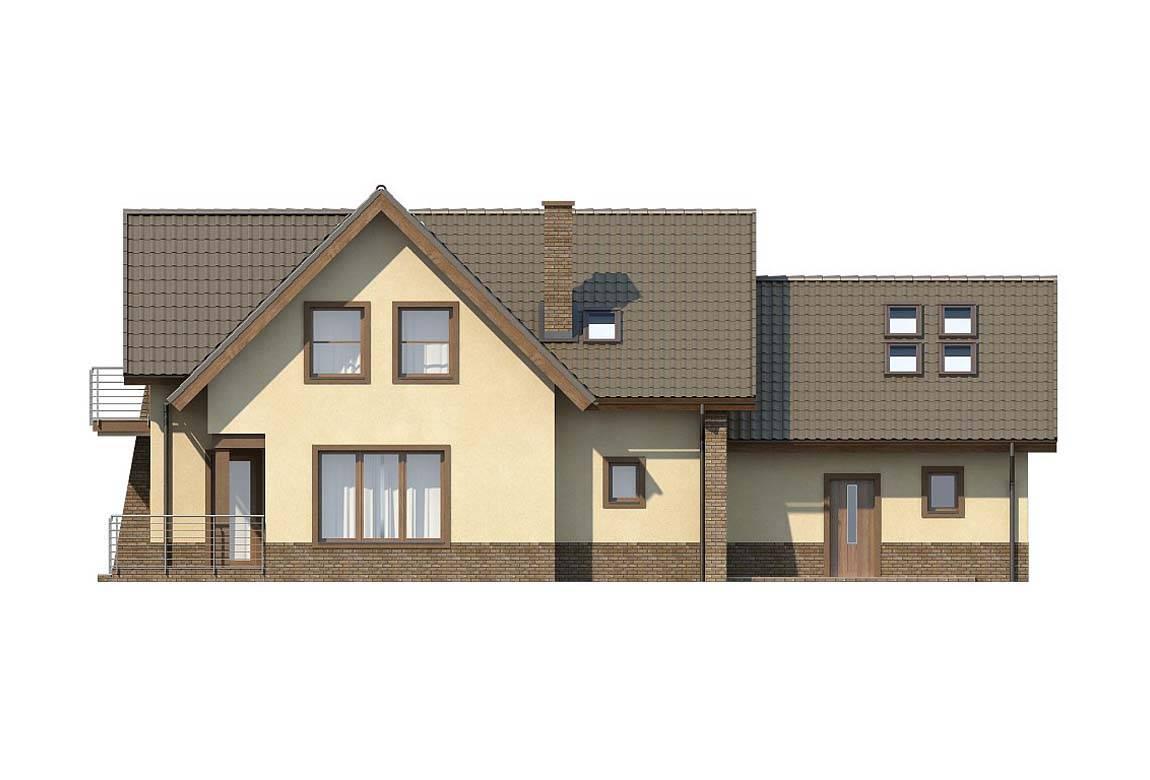 Проект дома из блоков АСД-1803 (uploads/gss/goods/824/big_4.jpg).