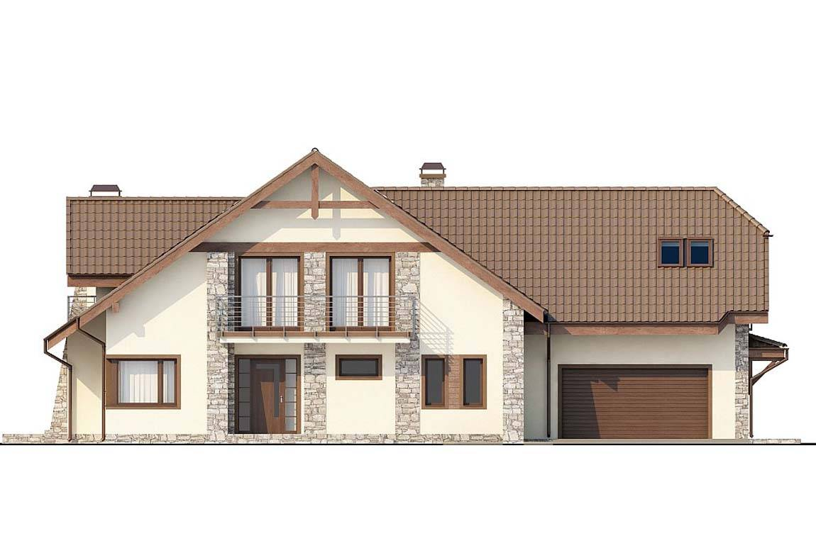 Проект дома из блоков АСД-1807 (uploads/gss/goods/828/big_4.jpg).