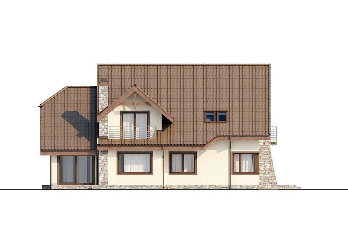 Проект дома из блоков АСД-1807 (uploads/gss/goods/828/big_5.jpg).