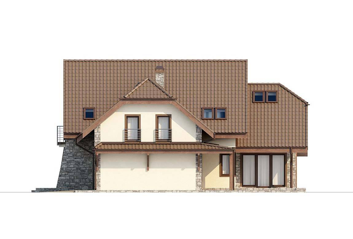 Проект дома из блоков АСД-1807 (uploads/gss/goods/828/big_6.jpg).