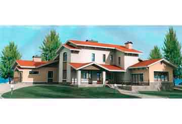 Проект кирпичного дома АСД-1083