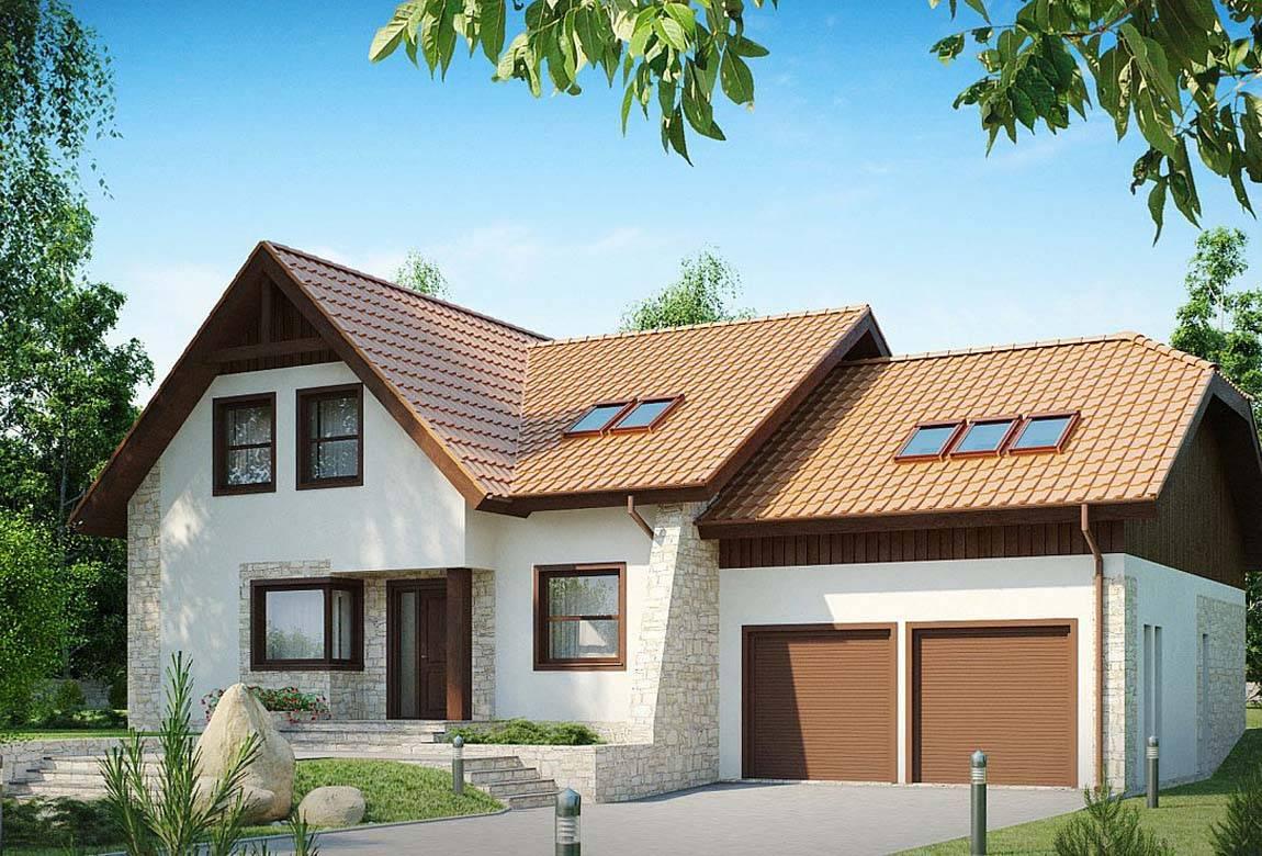 Проект дома из блоков АСД-1810 (uploads/gss/goods/831/big_1.jpg).