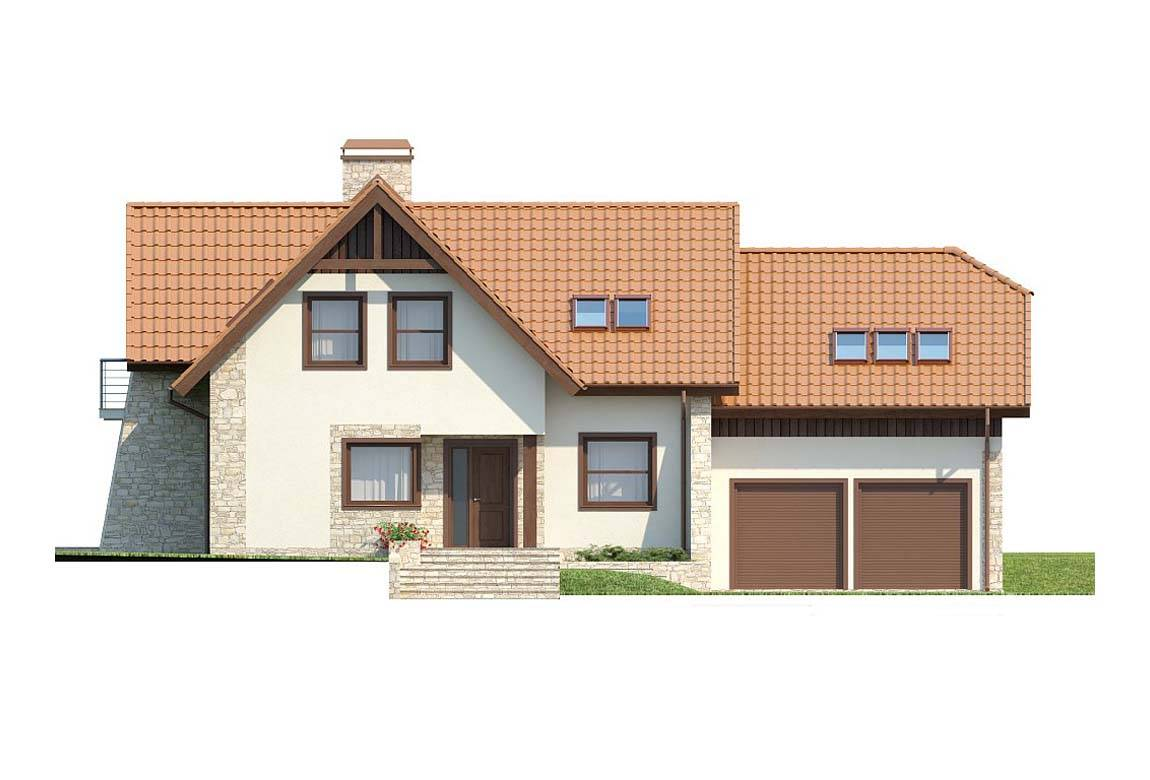 Проект дома из блоков АСД-1810 (uploads/gss/goods/831/big_4.jpg).