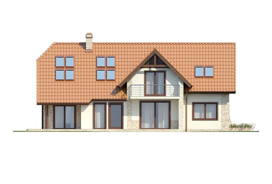 Проект дома из блоков АСД-1810 (uploads/gss/goods/831/big_6.jpg).