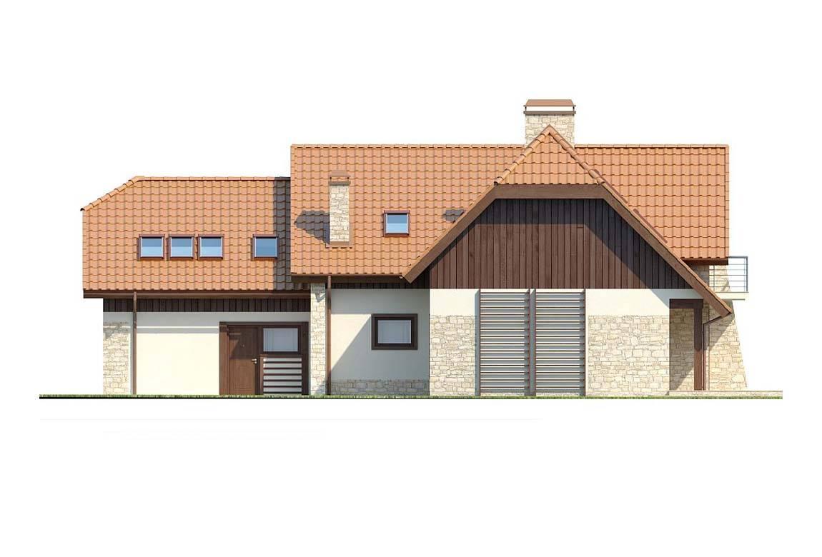 Проект дома из блоков АСД-1810 (uploads/gss/goods/831/big_7.jpg).