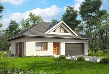Проект дома из блоков АСД-1811