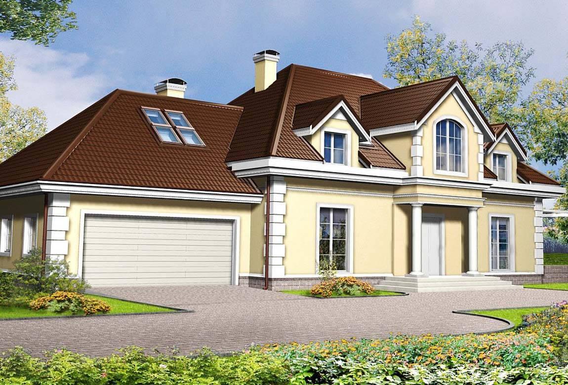 Проект дома из блоков АСД-1812 (uploads/gss/goods/833/big_1.jpg).