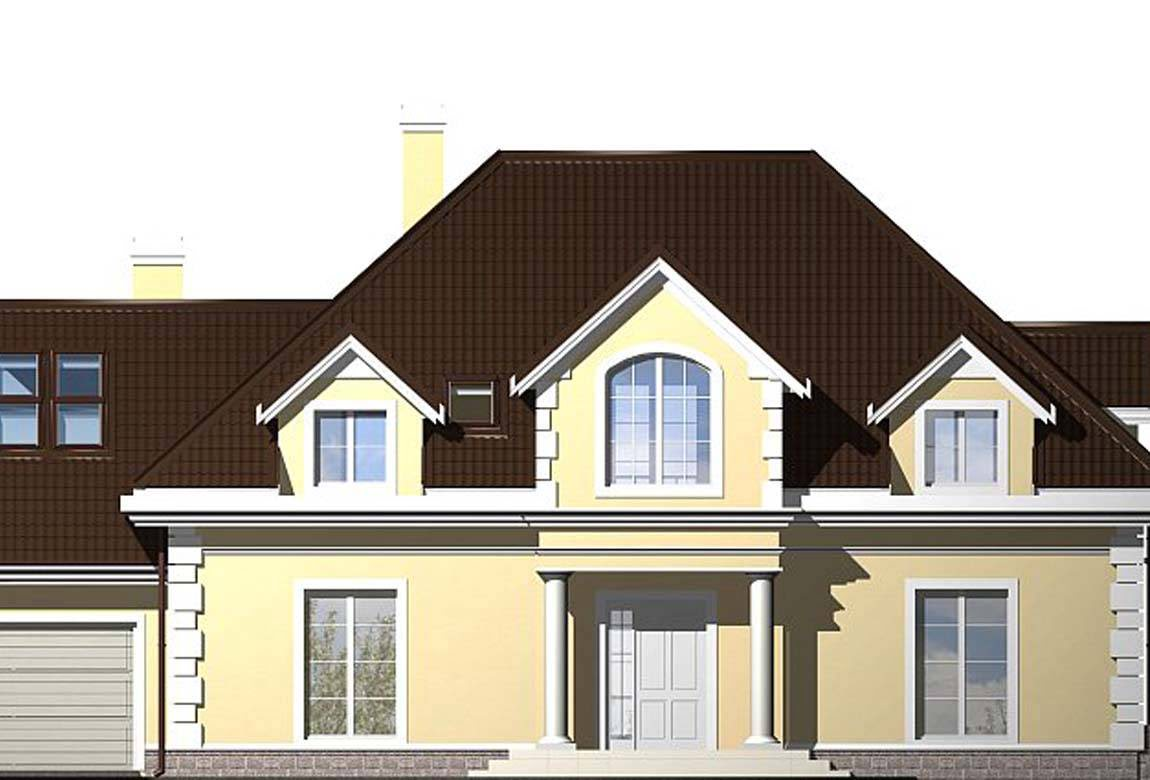 Проект дома из блоков АСД-1812 (uploads/gss/goods/833/big_3.jpg).