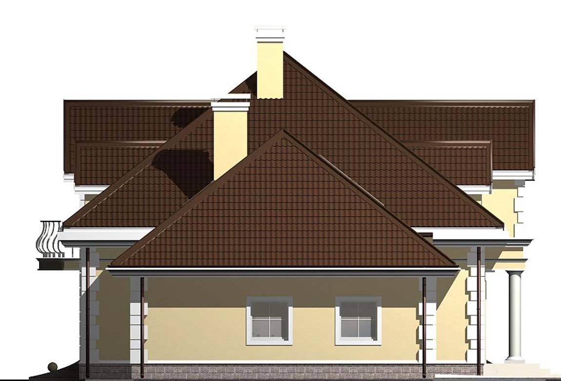Проект дома из блоков АСД-1812 (uploads/gss/goods/833/big_4.jpg).