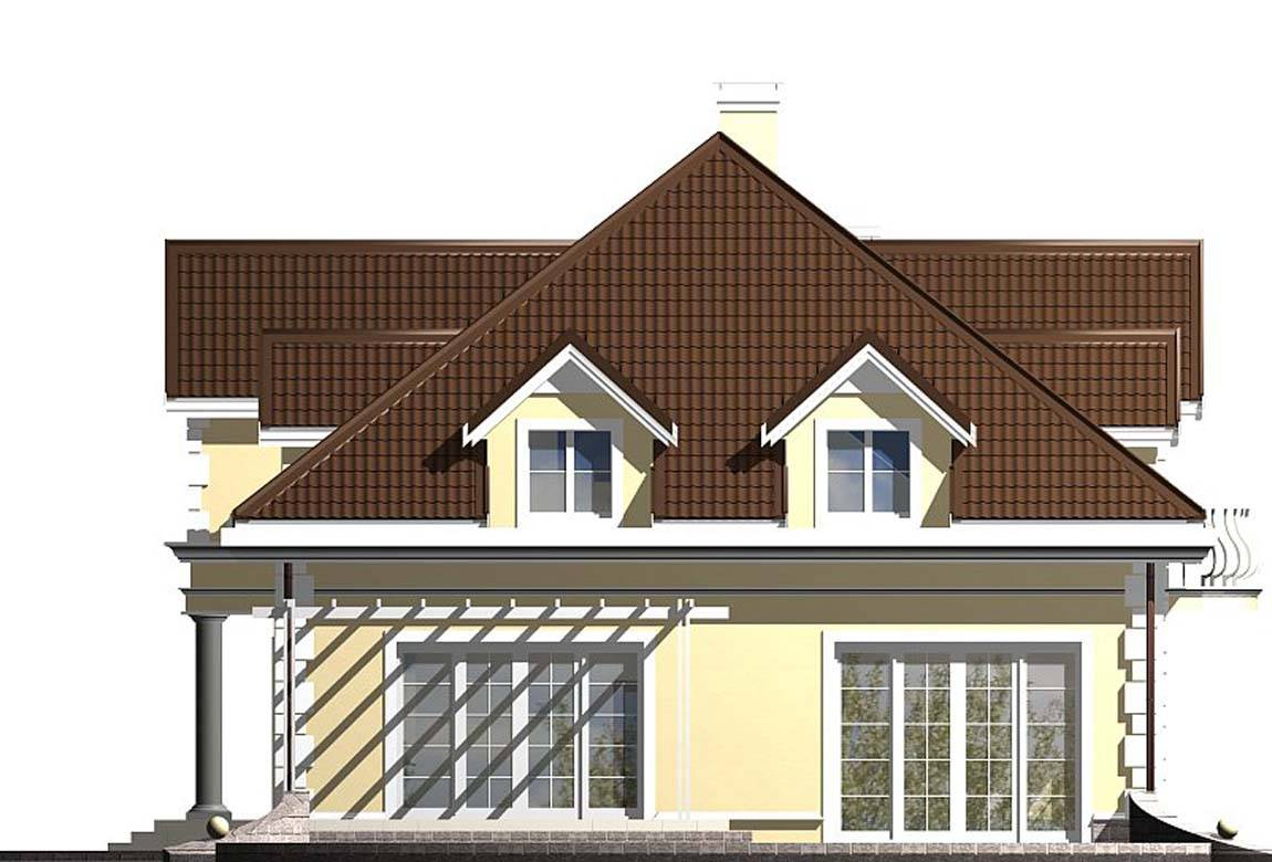 Проект дома из блоков АСД-1812 (uploads/gss/goods/833/big_5.jpg).