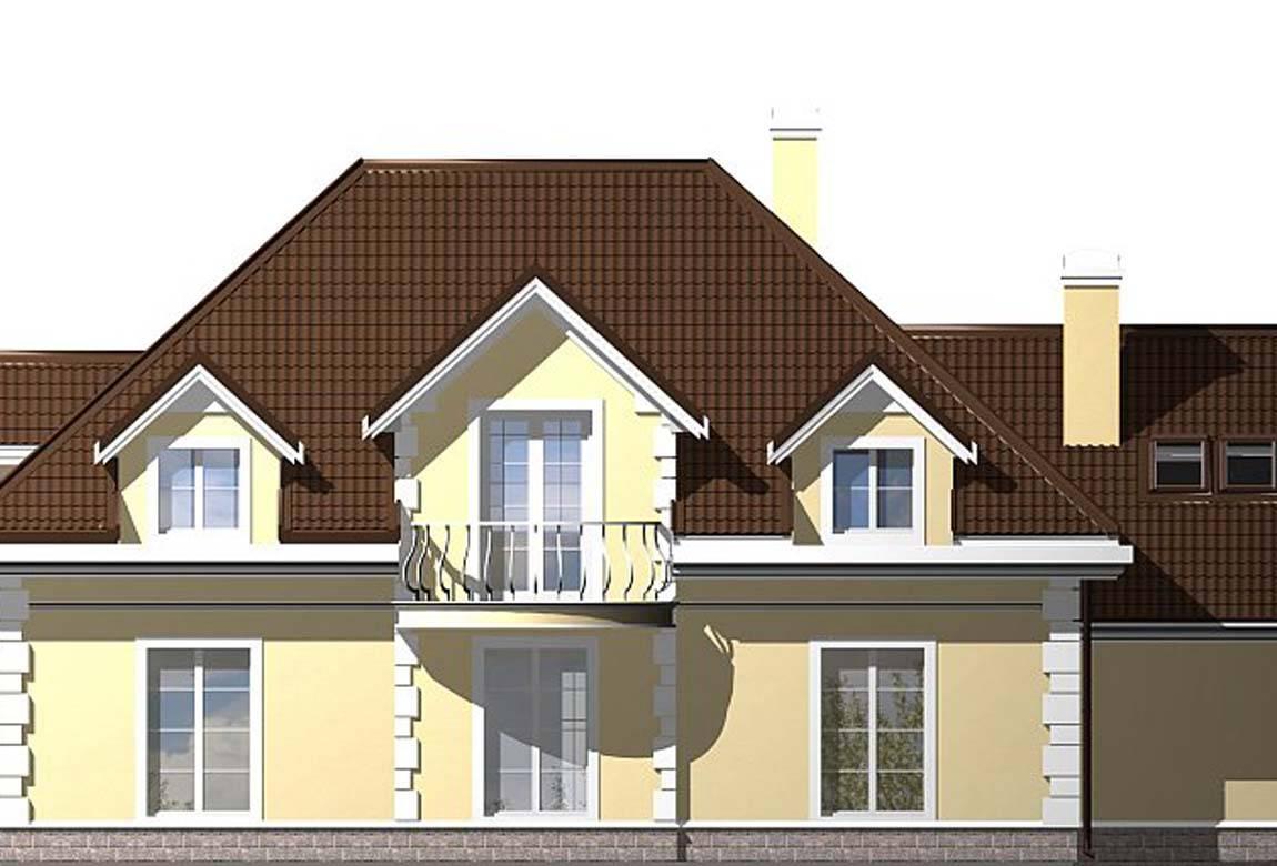 Проект дома из блоков АСД-1812 (uploads/gss/goods/833/big_6.jpg).