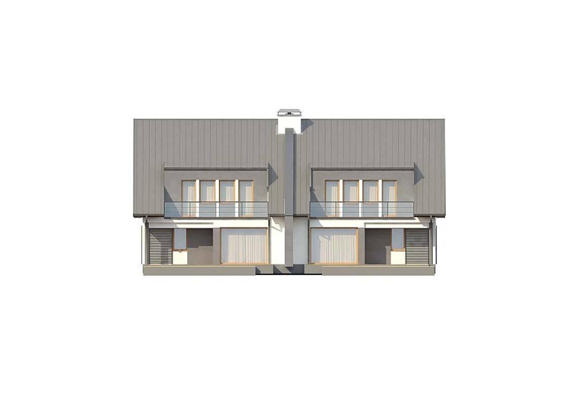 Проект дома из блоков АСД-1814 (uploads/gss/goods/835/big_3.jpg).