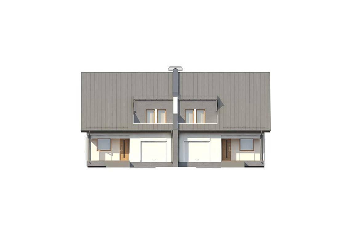Проект дома из блоков АСД-1814 (uploads/gss/goods/835/big_4.jpg).