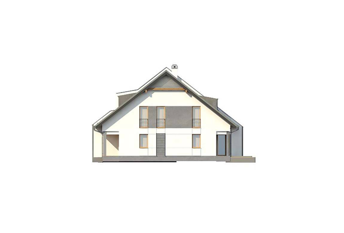 Проект дома из блоков АСД-1814 (uploads/gss/goods/835/big_6.jpg).
