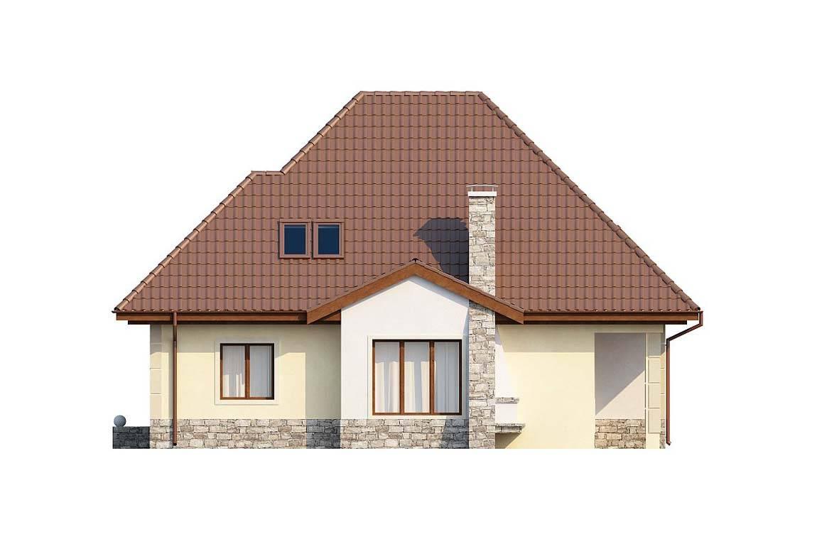 Проект дома из блоков АСД-1816 (uploads/gss/goods/837/big_4.jpg).