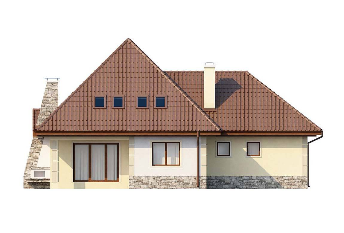 Проект дома из блоков АСД-1816 (uploads/gss/goods/837/big_6.jpg).